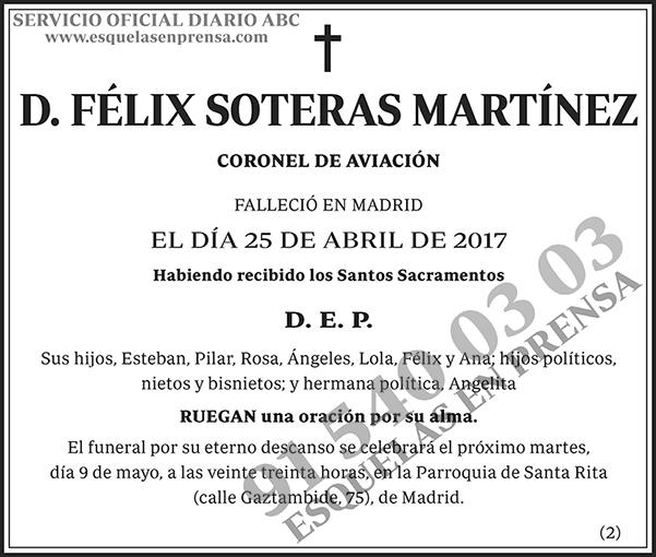 Félix Soteras Martínez